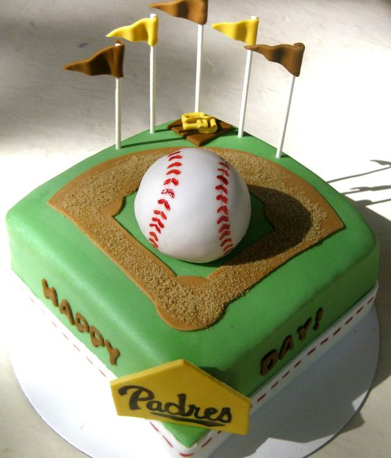 Baby Birthday Cake San Diego