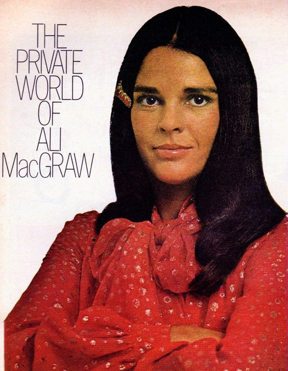 Ali MacGraw 1972