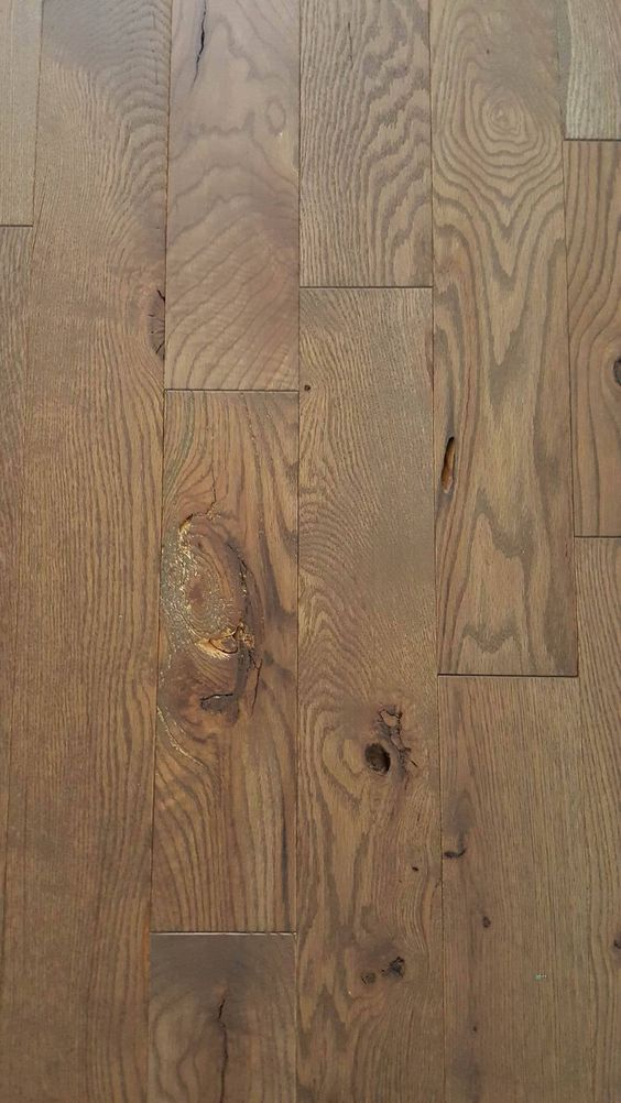 Close up red oak and stains on pinterest for Rustic red oak flooring