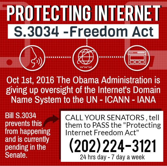 We must protect the internet if we are to be free to spread the GOOD NEWS!! Call please.