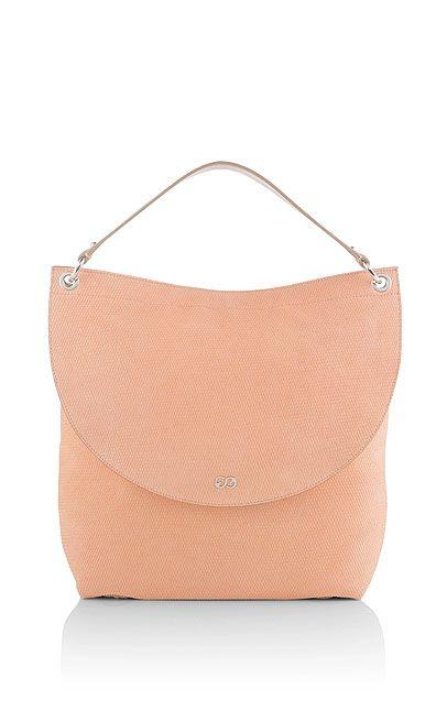 ESCADA SPORT - Hobo-Bag mit halbrunder Taschenklappe und Zipper-Verschluss.