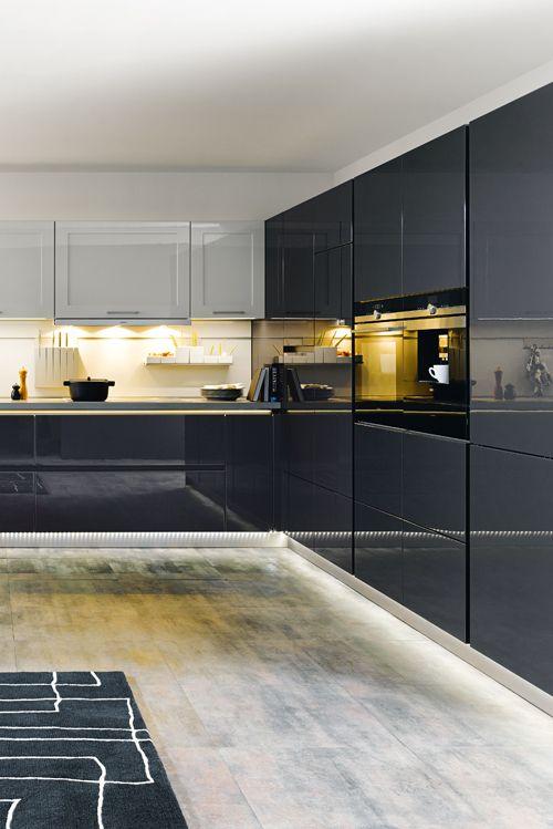 Licht an den richtigen Stellen schafft Akzente und erleichtert die - sockelleisten für küchen