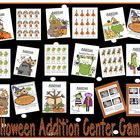 Nine Halloween Addition Center Games By Fern Smith with 76 Pages! Includes:  Addition Facts with Zero  Addition Doubles  Addition Doubles Plus One  Addition Plus One  Addition Plus Two  Addition Make Ten  Addition Fast Eights  Addition Fast Nines  Addition Adding 10 More  COMMON CORE STANDARDS  1.OA.1  1.OA.3  1.OA.5  1.OA.6  2.AO.1  2.OA.2  $5