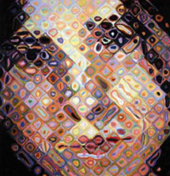 Steve Jobs by Chuck Close