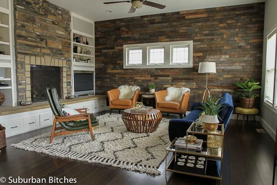 Wool Reclaimed Wood Walls And Style On Pinterest