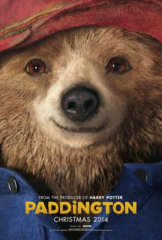 Paddington Bear comes out on Friday!  How gorgeous!  I love bears!  I have a paddington bear...AJ