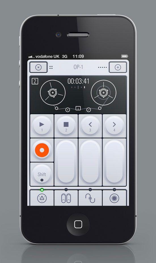 OP-1 User Interface Design #UI