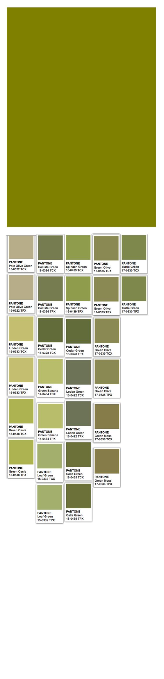 Olive Web And Pantone Colors Green Moss Olive Khaki Dried Tobacco Amp Avocado Pinterest