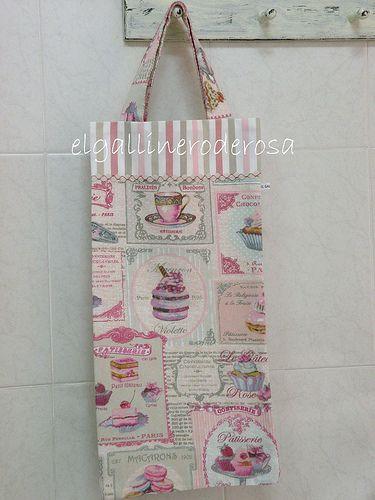 Bolsa de tela para el pan manualidades pinterest fotos - Bolsas de tela manualidades ...