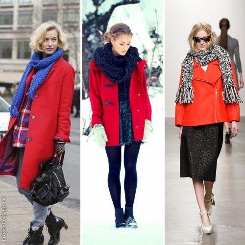 Красное пальто! С чем его носить? - Ekaterina Yanitskaya