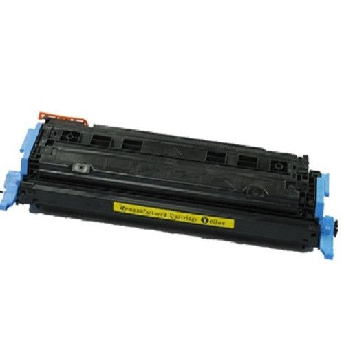 Remanufactured Replacement for HP 124A / Q6002A Yellow Laser Toner Cartridge