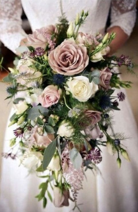 Mauve Spring Wedding Bouquets Rustic Chic Shade Of Pink Spring Wedding Bouquets Spring Wedding Bouquets Flower Bouquet Wedding Spring Wedding Bouquets Rustic