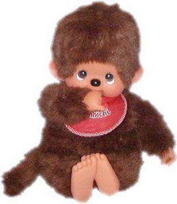 Monchichi Monchichi...oh so soft and cuddly