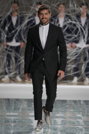 Lourenço Ortigão - 1st face Ambitious Shoes | Spring/Summer 16 @ 37º Portugal Fashion #fashion #clothes #shoes #style #menswear #outfit #pf #portugalfashion #runaway #streetfashion #SS #mensfashion #streetstyle #SS16 #Footwear #ambitious #design #leathershoes #ambitiousmood #ambitions #ambitiousshoes #colourfullshoes