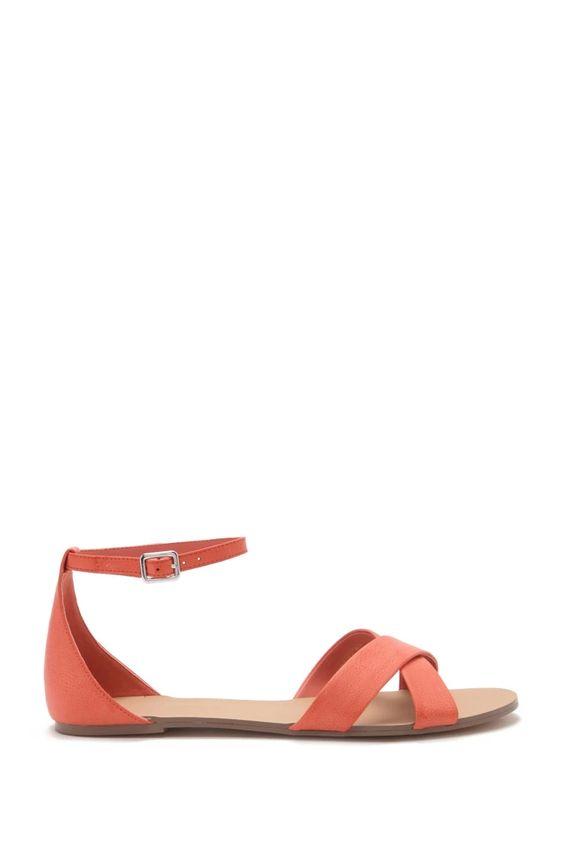 *FOREVER 21 || Faux leather sandals | Sandalias de piel sintética