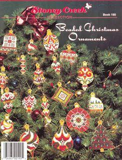 Talita Monteiro: Px - Beaded Christmas Ornaments