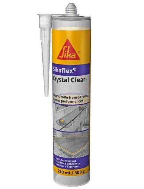 Sikaflex Crystal Clear Mastic Colle De Montage Transparente Sika Collant Colle Transparente Transparent