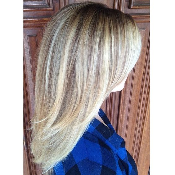 Pearly Blonde with a Halo Root. Low maintenance and beautiful. #StyledByKate 916-444-2136 Instagram: @StyledByKate_