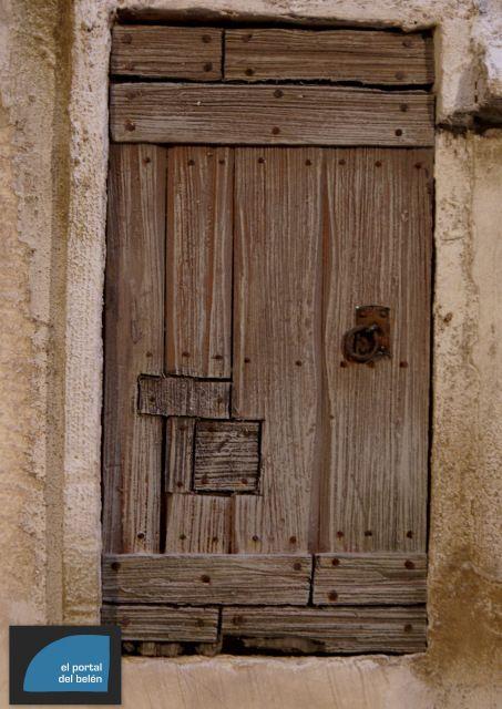 Foro de belenismo miniaturas detalles y complementos - Como hacer una puerta rustica ...