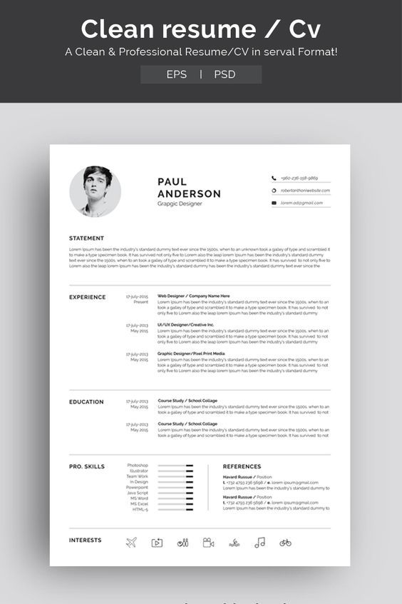 How To Write A Resume Resume Template Resume Design Template Resume Design
