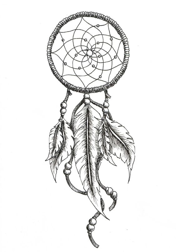 dreamcatcher tattoos with birds drawings - Google Search ...