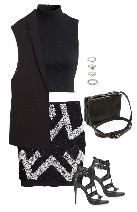 """""""Outfit"""" by alwayswearwhatyouwanttowear ❤ liked on Polyvore featuring H&M, Topshop, Forever 21, Zara and fashionset"""