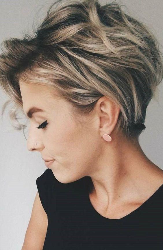 Modele de coiffure de cheveux court