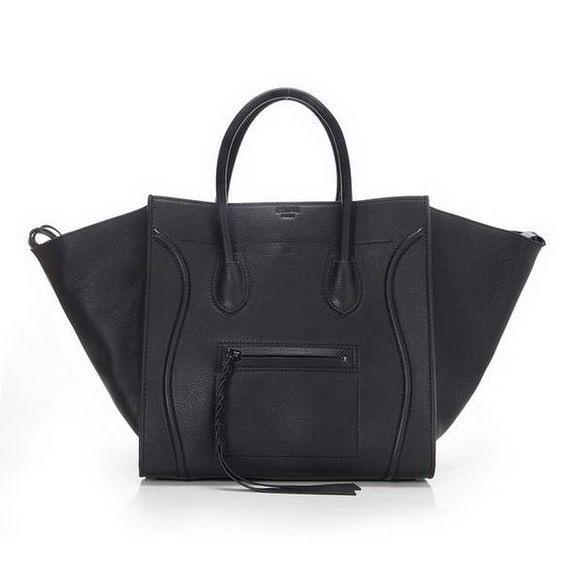 fake celine bags cheap - Celine Phantom Small Tote Bag Original Leather Black----CLASSIC ...