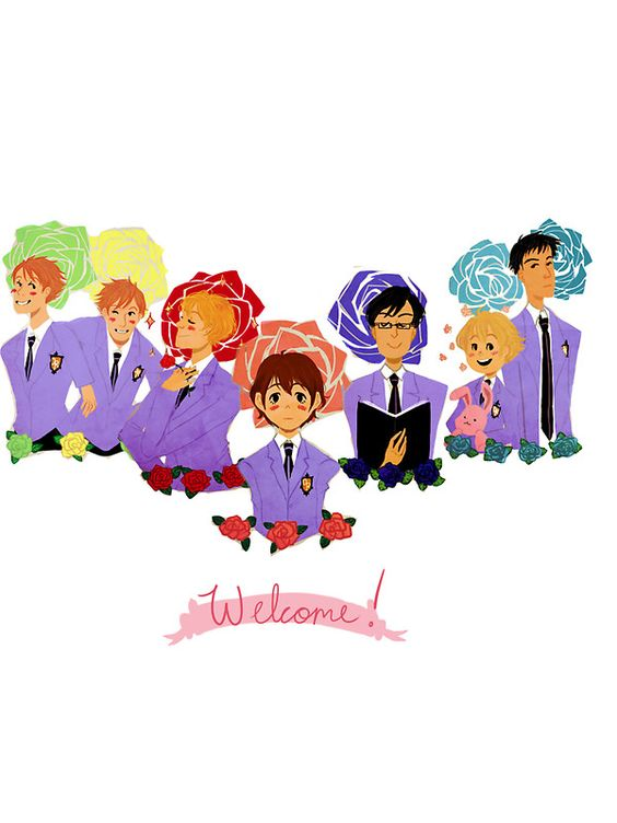 Ouran High School Host Club by Soffie