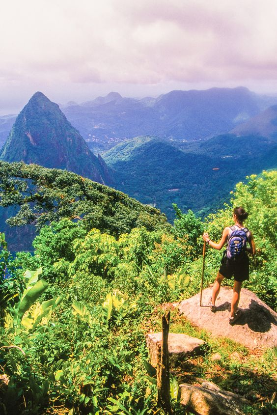 Castries, St. Lucia   From the twin peaks of the Pitons mountains to rainforest and palm-fringed beaches, this is your gateway to outdoor fun, relaxation and exploring the unique culture.