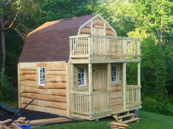 Lots of pictures of barn style sheds can be transformed for Design a shed cubbies