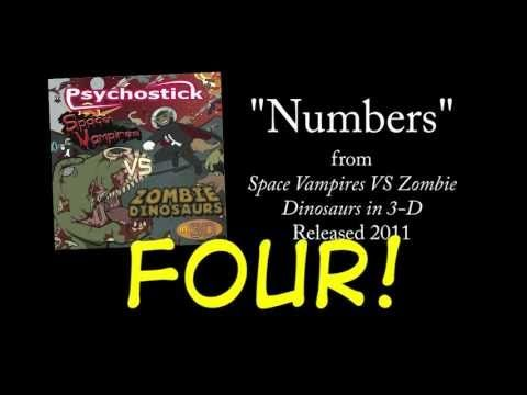 Numbers (I can only count to four) + LYRICS [Official] by PSYCHOSTICK