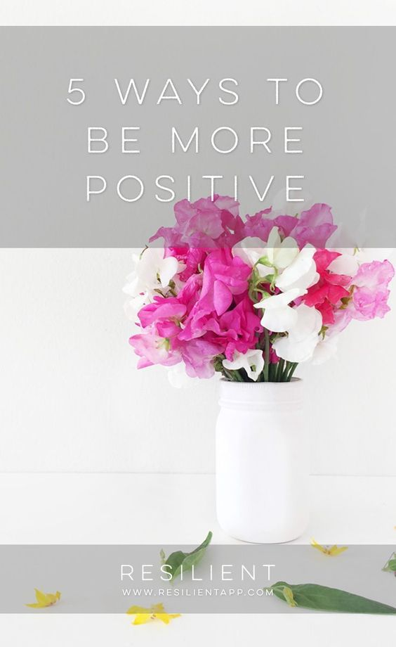 Being positive is easier than you think! With just a few small mindset changes, you can be happier and be more positive regardless of your current situation. He