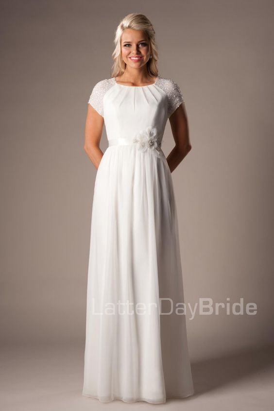 Modest wedding modest wedding dresses and wedding for Modest wedding dresses for sale