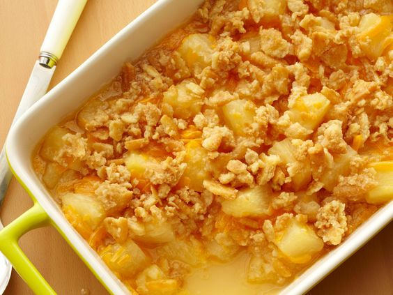 Get this all-star, easy-to-follow Food Network Pineapple Casserole recipe from Paula Deen.