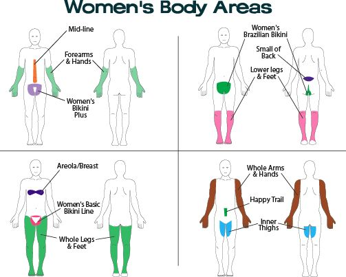 Laserhairremoval Zones For Women How Would You Like To -9406