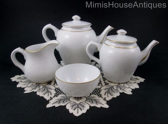 "17pc Breakfast Set ""Tete A Tete"" Egg Cups Muffin Dish Tea Set Vista Alegre   eBay"