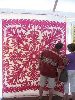 Under the Lychee Tree: advert. for 2012 Kauai Quilt & Fiber Show