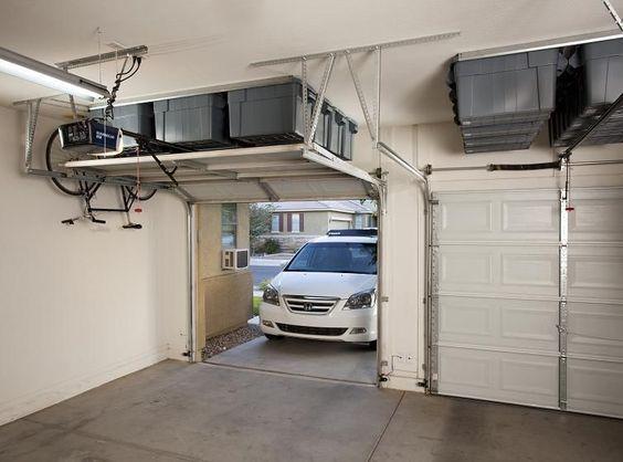 building over a garage ideas - Over Garage Door Storage Racks Best Garage Design Ideas