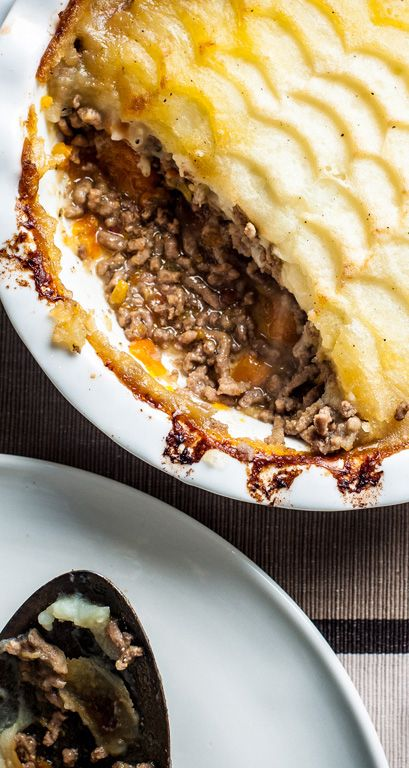 With a few added ingredients like star anise and cloves, Adam Byatt gives the traditional British cottage pie a delicate twist.