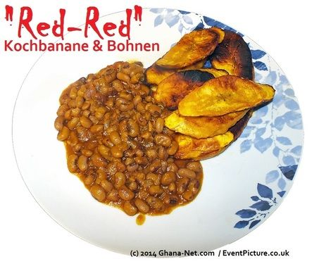 Red Red Plantains, Beans, Palm-Oil, Ghana Food, What food in Ghana, Hot Pepper