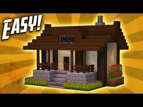 Small Minecraft House Ideas Modern Minecraft Houses Minecraft Small House Minecraft House Designs