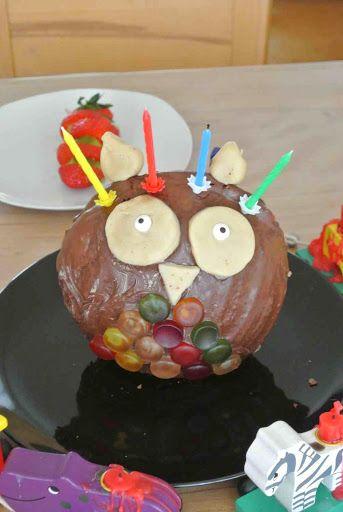 Eulen Kuchen