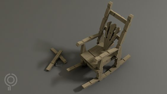 how to make a chair into a rocking chair