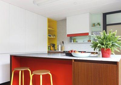 Combinaciones de color en los muebles de cocina - Arquitectos y decoradores de interiores ...