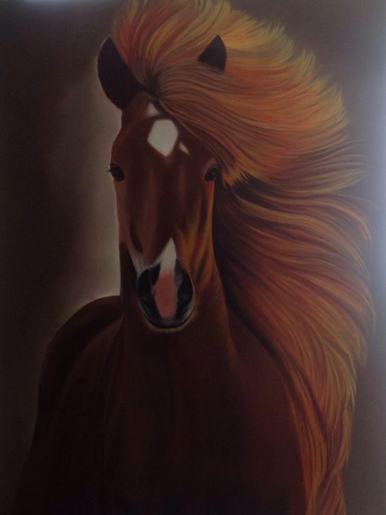 Libertad me trasmitió esta obra de arte....pintora !! Ruth Chy yong