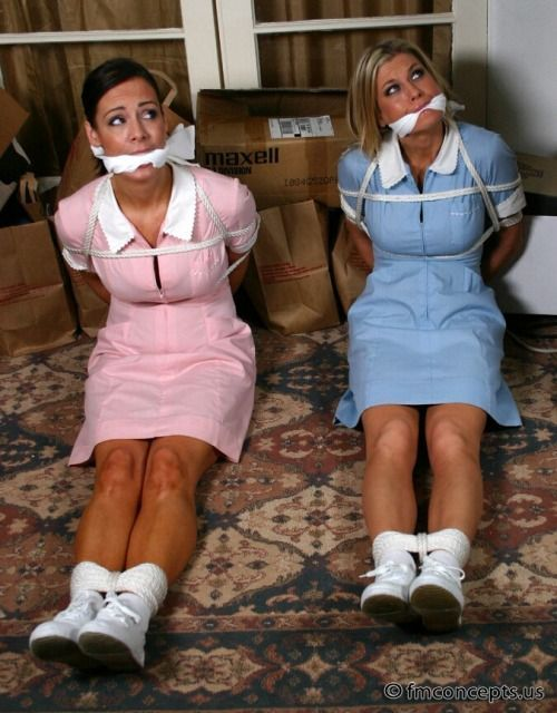 Tied Up And Gagged Ladies 33