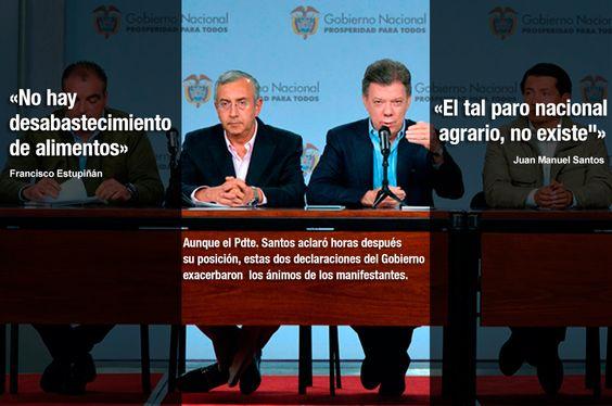 Las frases del Gobierno que motivan hoy los cacerolazos en varias ciudades del país www.noticiascaracol.com