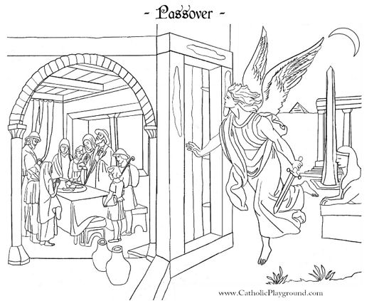 Pinterest the world s catalog of ideas for Passover coloring page