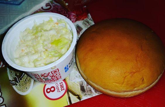 """The fav coleslaw with a bun at KFC  #zomato #zomatodubai #zomatouae #dubai #dubaipage #mydubai #uae #inuae #dubaifoodblogger #uaefoodblogger #foodblogging…"""